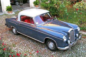 mercedes 220 s ponton coupe 1957 www.cristianoluzzago.it brescia italy 5