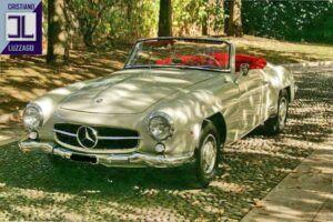 mercedes benz 190 sl 1963 www.cristianoluzzago.it brescia italy 2