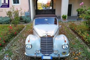 mercedes benz 220 a cabriolet 1955 www.cristianoluzzago.it brescia italy 1