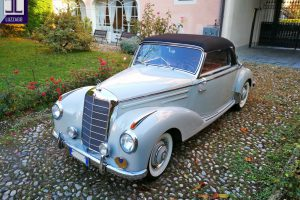 mercedes benz 220 a cabriolet 1955 www.cristianoluzzago.it brescia italy 3