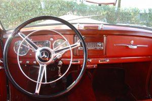 mercedes benz 220 a cabriolet 1955 www.cristianoluzzago.it brescia italy 3b