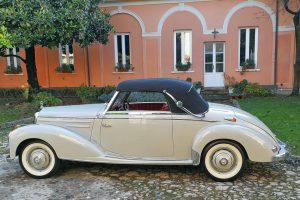 mercedes benz 220 a cabriolet 1955 www.cristianoluzzago.it brescia italy 7