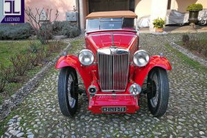 mg tc midget 1948 www.cristianoluzzago.it brescia italy 1