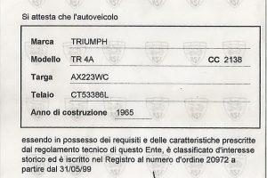 triumph tr4 a www.cristianoluzzago.it brescia italy 53