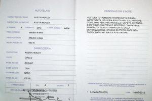 1960 austin healey 3000mk1 www.cristianoluzzago.it Brescia Italy (40