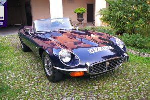 1972 JAGUAR E TYPE ROADSTER 5300 V12 1972 www.cristianoluzzago.it Brescia Itally (3)