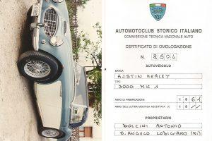 AUSTIN HEALEY 3000 M1 www.cristianoluzzago.it Brescia Italy (28