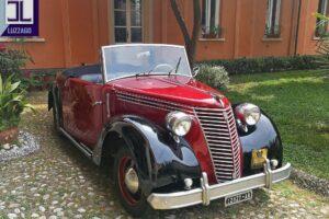 FIAT 1100 STELLA ALPINA CABRIOLET MONVISO 1947 1000 miglia www.cristianoluzzago.it Brescia (10)