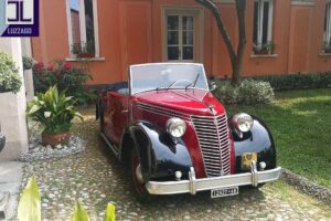 FIAT 1100 STELLA ALPINA CABRIOLET MONVISO 1947 1000 miglia www.cristianoluzzago.it Brescia (11)