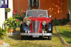 FIAT 1100 STELLA ALPINA CABRIOLET MONVISO 1947 1000 miglia www.cristianoluzzago.it Brescia (12)