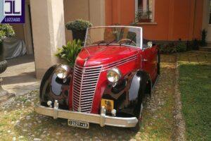 FIAT 1100 STELLA ALPINA CABRIOLET MONVISO 1947 1000 miglia www.cristianoluzzago.it Brescia (13)