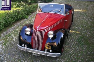 FIAT 1100 STELLA ALPINA CABRIOLET MONVISO 1947 1000 miglia www.cristianoluzzago.it Brescia (2)