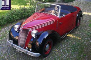 FIAT 1100 STELLA ALPINA CABRIOLET MONVISO 1947 1000 miglia www.cristianoluzzago.it Brescia (3)