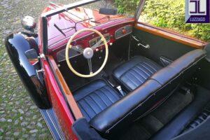 FIAT 1100 STELLA ALPINA CABRIOLET MONVISO 1947 1000 miglia www.cristianoluzzago.it Brescia (30)