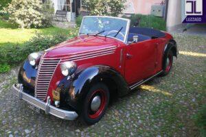FIAT 1100 STELLA ALPINA CABRIOLET MONVISO 1947 1000 miglia www.cristianoluzzago.it Brescia (4)