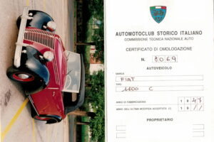 FIAT 1100 STELLA ALPINA CABRIOLET MONVISO 1947 1000 miglia www.cristianoluzzago.it Brescia (42)