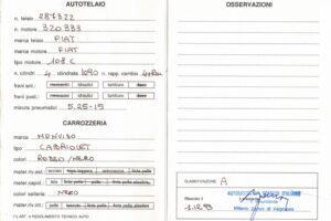 FIAT 1100 STELLA ALPINA CABRIOLET MONVISO 1947 1000 miglia www.cristianoluzzago.it Brescia (42a