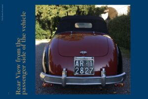 FIAT 1100 STELLA ALPINA CABRIOLET MONVISO 1947 1000 miglia www.cristianoluzzago.it Brescia (47)
