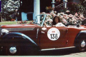 FIAT 1100 STELLA ALPINA CABRIOLET MONVISO 1947 1000 miglia www.cristianoluzzago.it Brescia (48)