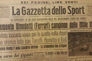 FIAT 1100 STELLA ALPINA CABRIOLET MONVISO 1947 1000 miglia www.cristianoluzzago.it Brescia (49)