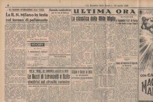 FIAT 1100 STELLA ALPINA CABRIOLET MONVISO 1947 1000 miglia www.cristianoluzzago.it Brescia (51)