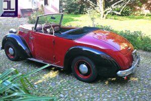 FIAT 1100 STELLA ALPINA CABRIOLET MONVISO 1947 1000 miglia www.cristianoluzzago.it Brescia (6)