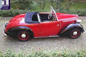 FIAT 1100 STELLA ALPINA CABRIOLET MONVISO 1947 1000 miglia www.cristianoluzzago.it Brescia (9)