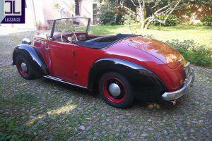 FIAT 1100 STELLA ALPINA CABRIOLET MONVISO 1947 www.cristianoluzzago.it Brescia Italy (10)