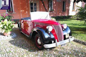 FIAT 1100 STELLA ALPINA CABRIOLET MONVISO 1947 www.cristianoluzzago.it Brescia Italy (17)