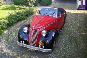 FIAT 1100 STELLA ALPINA CABRIOLET MONVISO 1947 www.cristianoluzzago.it Brescia Italy (3)