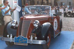 FIAT 1100 STELLA ALPINA CABRIOLET MONVISO 1947 www.cristianoluzzago.it Brescia Italy (57)