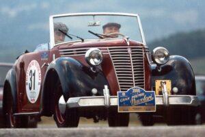 FIAT 1100 STELLA ALPINA CABRIOLET MONVISO 1947 www.cristianoluzzago.it Brescia Italy (58)