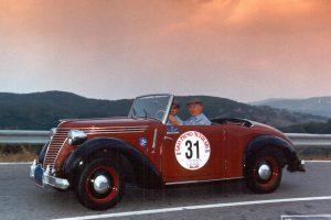 FIAT 1100 STELLA ALPINA CABRIOLET MONVISO 1947 www.cristianoluzzago.it Brescia Italy (59)