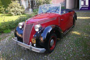 FIAT 1100 STELLA ALPINA CABRIOLET MONVISO 1947 www.cristianoluzzago.it Brescia Italy (6)