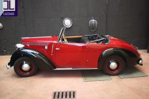 FIAT 1100 STELLA ALPINA CABRIOLET MONVISO 1947 www.cristianoluzzago.it Brescia Italy (67)