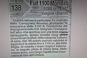 FIAT 1100 STELLA ALPINA CABRIOLET MONVISO 1947 www.cristianoluzzago.it Brescia Italy (68)