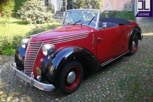 FIAT 1100 STELLA ALPINA CABRIOLET MONVISO 1947 www.cristianoluzzago.it Brescia Italy (7)
