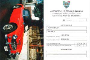 AUSTIN HEALEY 3000MK3 www.cristianoluzzago.it Brescia Italy (28