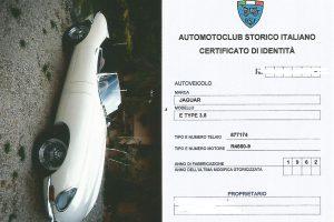 JAGUAR E TYPE S1 3800 ROADSTER www.cristianoluzzago (52
