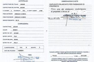 JAGUAR E TYPE S1 3800 ROADSTER www.cristianoluzzago (53