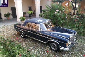 MERCEDES BENZ 220 SE CABRIOLET 1964 www.cristianoluzzago.it Brescia Italy (15)
