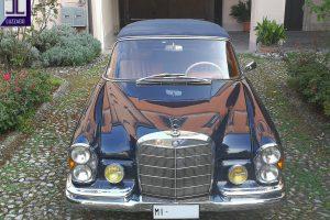MERCEDES BENZ 220 SE CABRIOLET 1964 www.cristianoluzzago.it Brescia Italy (23)