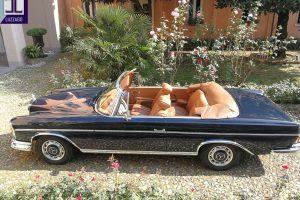 MERCEDES BENZ 220 SE CABRIOLET 1964 www.cristianoluzzago.it Brescia Italy (7)
