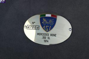 MERCEDES BENZ 350SL www.cristianoluzzago.it Brescia Italy (34)