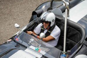 CRISTIANO LUZZAGO DRIVE WITH US 2021 AUTODROMO DI MODENA LISTER JAGUAR (5)