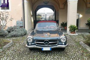 MERCEDES 190 SL www.cristianoluzzago.it Brescia Italy (3)