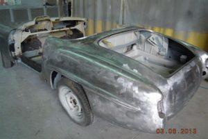 MERCEDES 190 SL www.cristianoluzzago.it Brescia Italy (59
