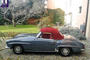 MERCEDES 190 SL www.cristianoluzzago.it Brescia Italy (7)