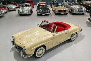 1959 MERCEDES BENZ 190 SL ROADSTER www.cristianoluzzago.it Brescia Italy (3)