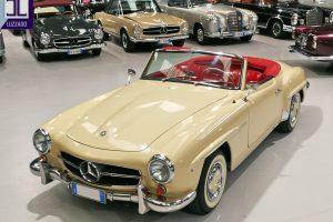 1959 MERCEDES BENZ 190 SL ROADSTER www.cristianoluzzago.it Brescia Italy (4)